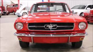 1965 Ford Mustang Red2