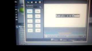 Как сделать интро через Power Director видеоурок#2