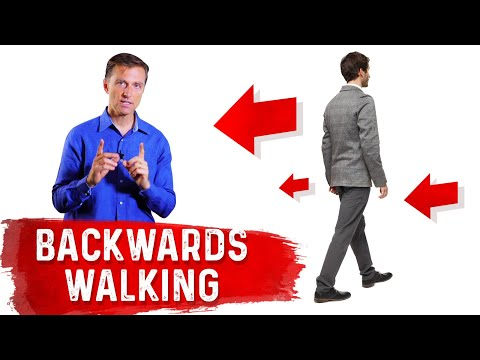 Walk Backwards to Rid Your Knee and Back Pain