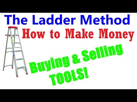 How to Make Money Buying & Selling Used Tools (Ladder Method)