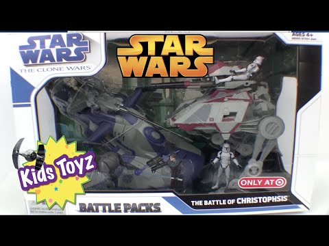 Star Wars Clone Wars The Battle of Christophsis Battle Pack