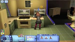 Dutch Sims 3 - 100 baby challenge - #4 man in de grond