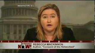 Author Rebecca MacKinnon on the Global Struggle For Internet Freedom