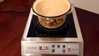 Плита индукционная GoodFood IC35  режим 270 градусов   1 минута