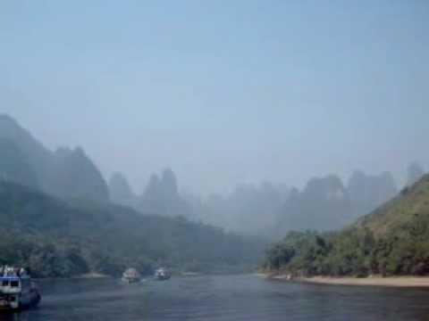 Mystic Views along the Li River, Guilin, China !