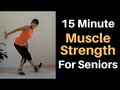 15 Minute Senior Strength Workout