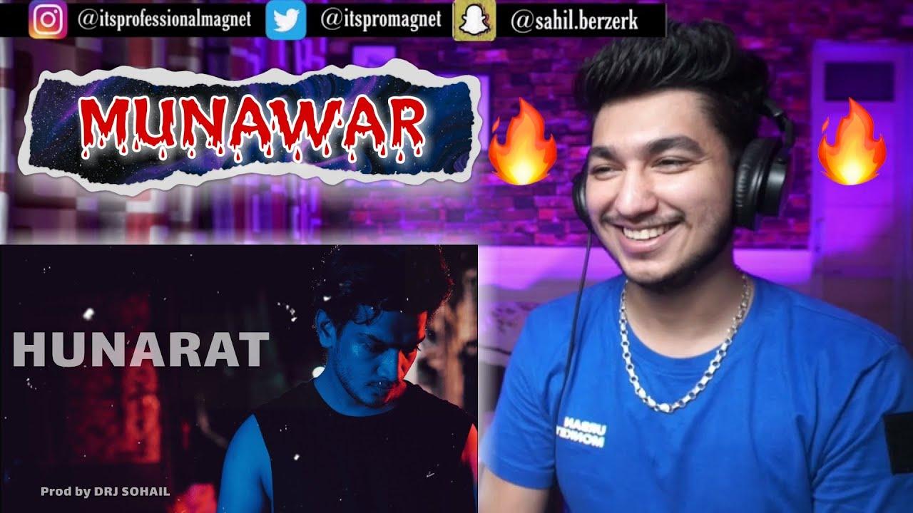 Munawar - Hunarat (Official Music Video) Prod By DRJ Sohail | REACTION | PROFESSIONAL MAGNET |