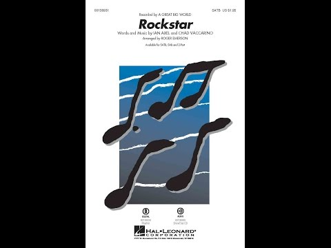 Rockstar - Arranged by Roger Emerson