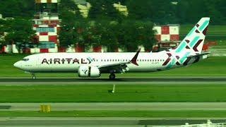 AIR ITALY Boeing 737 MAX 8 Landing at Milan Malpensa Airport (MXP) | EI-GFY