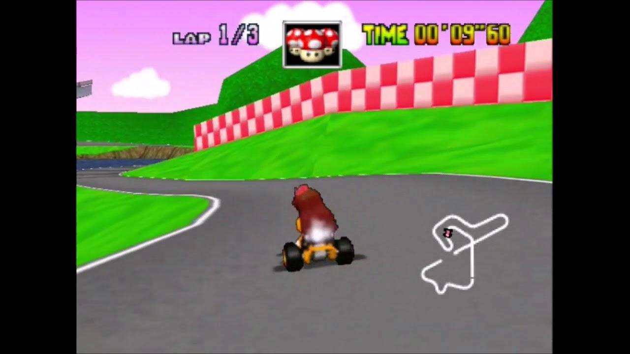 Mario Kart 64 Daisy Retro Character Texture Hack Youtube