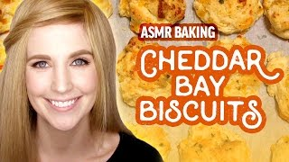 ASMR Baking: Red Lobster Style Cheddar Bay Biscuits
