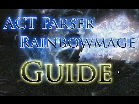 FFXIV: Customizing Your RainbowMage Overlay Made Super Easy