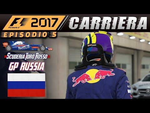 """""""NON C'E' SPAZIO, SIAMO TROPPI!!"""" - F1 2017 Carriera #05 Toro Rosso 🏁 GP RUSSIA 🏁 Sochi"""