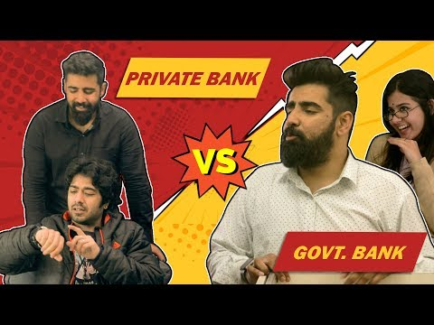 Private Bank Vs Government Bank | RishhSome