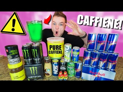 MAKING THE STRONGEST ENERGY DRINK IN THE WORLD CHALLENGE!!!