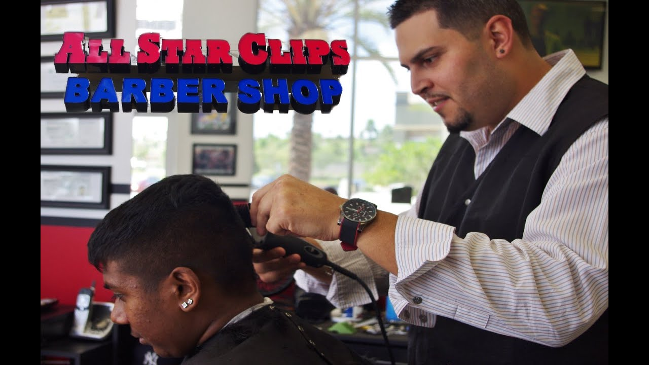 All Star Clips Barber Shop Promo Youtube