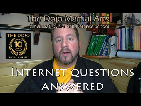 Martial Arts Internet Questions Answered at The Dojo Self-Defense
