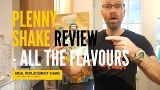 My Week on Plenny - All the New Flavours