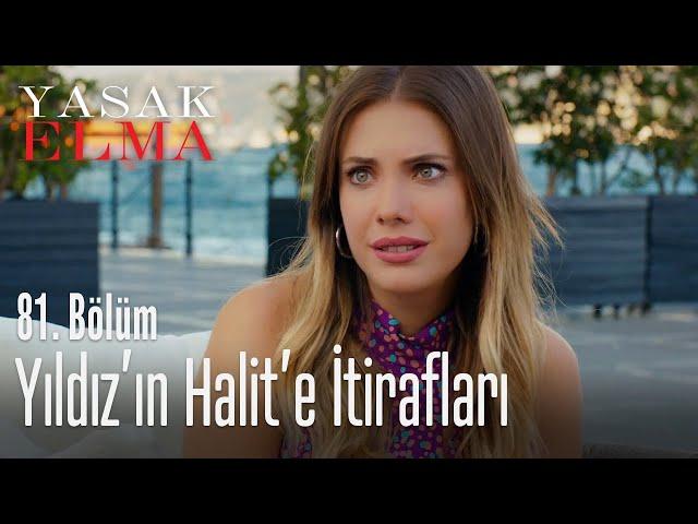 Yıldız'ın Halit'e itirafları - Yasak Elma 81. Bölüm