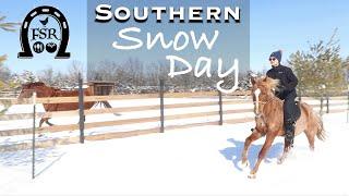 Southern Snow Day 2021 - Valentines Polar Vortex in Arkansas