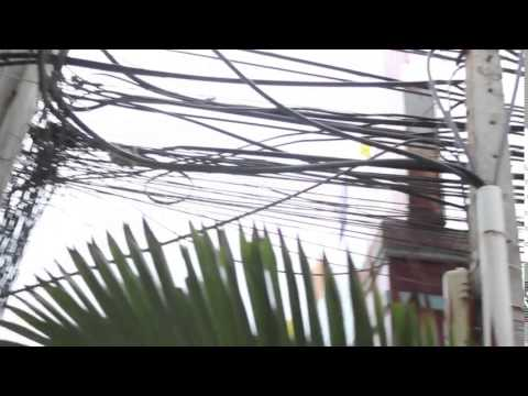 Vietnam Street Electricity Cables