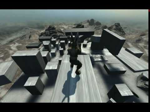 Overgrowth parkour test