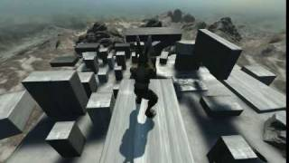 Overgrowth parkour test 1 (free running)