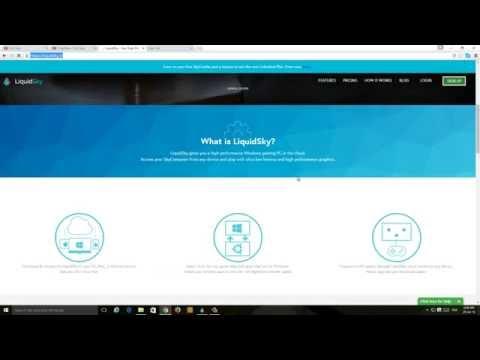 LiquidSky Cloud Gaming service Free Beta testing