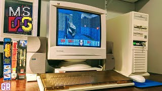 The Ultimate mid-90s DOS / 486 DX2 66 MHz Gaming Computer
