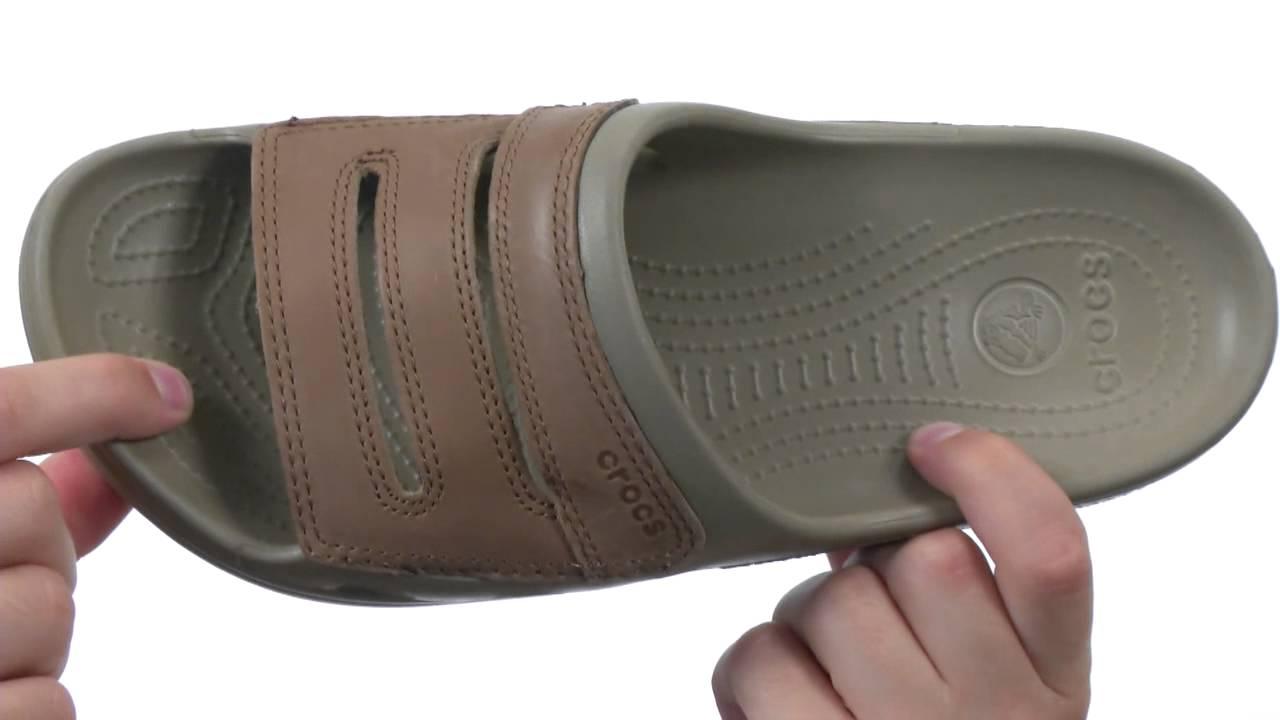 4ee3ab5e9b9 Crocs - Yukon Slide SKU  7735410 - YouTube