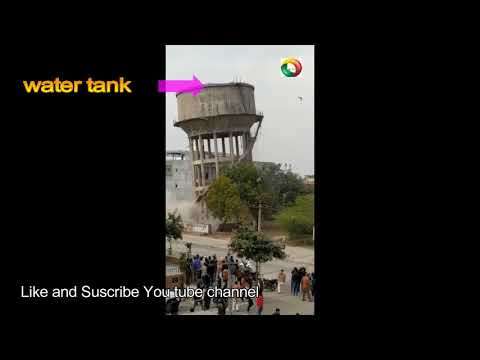 Water Tank Blast, Water Tower Compilation