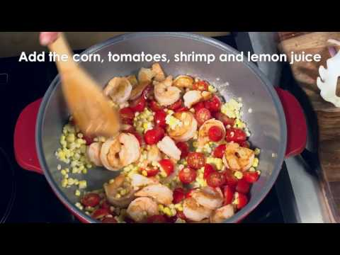 Shrimp Scampi over Ravioli – MAKER Minute™
