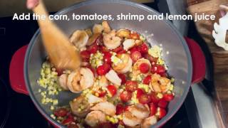 Shrimp Scampi over Ravioli - MAKER Minute