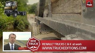 Conditions réelles sur le terrain : Le K Renault Trucks éprouvé à la Valbonne