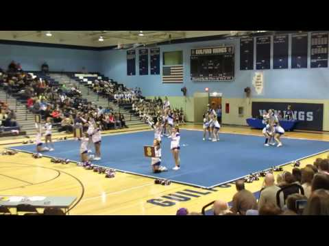 Hononegah High School @ Guilford Cheerleading Competition 2013