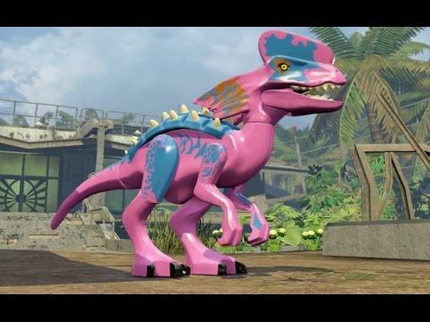 LEGO Jurassic World - Jurassic Park 2 Hub 100% Guide - Isla Sorna