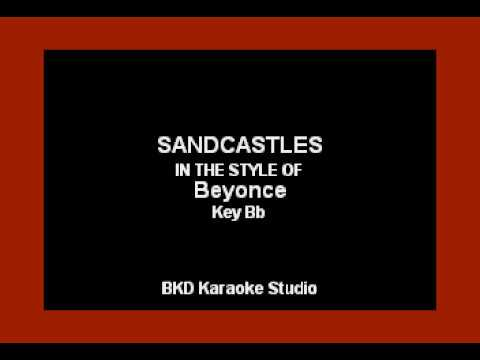 sandcastles-(in-the-style-of-beyonce)-(karaoke-with-lyrics)