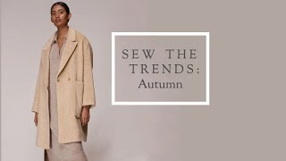 Sew The Trends Autumn Fashion Sewing The Fold Line