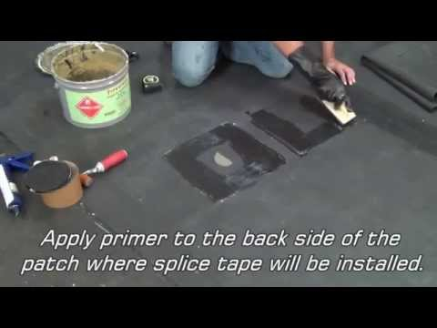 EPDM Rubber Roof Repair