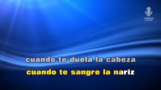 ♫ Demo - Karaoke - PARA NO VERTE MAS - La Mosca Tsé tsé