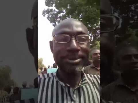 Bida local government, workers peaceful demonstration. Part 1