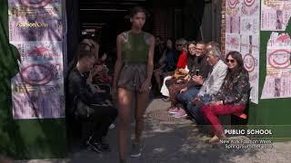 Public School New York Fashion Week SpringSummer 2018