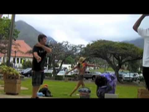 Safety Dance @ Maui County Building