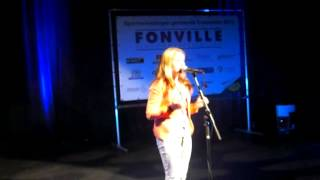 Anna Westerling zingt : Out here on my own (cover Irene Cara, Fame)