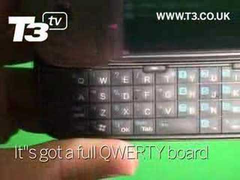 T Mobile MDA Vario III videoed