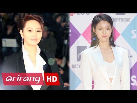 [Showbiz Korea] Suit fashion styles of female stars