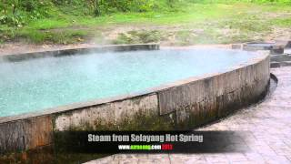 Steam from Selayang hot spring Mp3