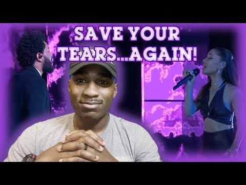 The Weeknd and Ariana Grande Live - – Save Your Tears (2021 iHeart Radio Music Awards)(Reaction)