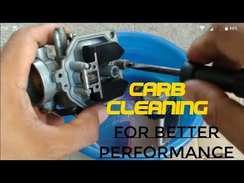 Carburetor cleaning in easy way (Tagalog)