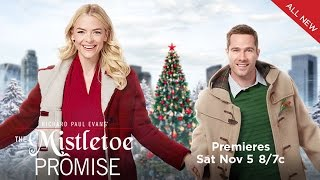 Preview - The Mistletoe Promise - Starring Jaime King and Luke Macfarlane - Hallmark Channel